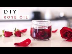 Pamper yourself this Valentine's weekend with this DIY rose oil recipe! I had so much fun making this... It smells so good, I can't wait to incorporate it in...