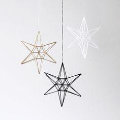 Beautiful geometric 3D stars