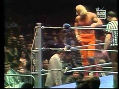 Superstar Billy Graham vs.Dusty Rhodes-MSG-Oct 1977