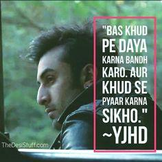 #TheDesiStuff #Bollywood #ranbirkapoor #yjhd
