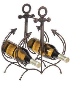 Ship's Anchor Wine Rack