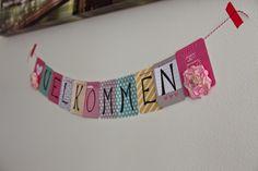 Andrine og Marens Landhandleri - Blog: DIY - Project Life Card Banner created by Dt Ann-Katrin