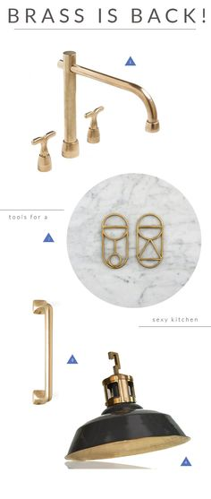 TRENDLAND TUESDAYS / BRASS KITCHENS