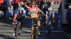 Bryan Coquard (Team Direct Énergie) Bryan Coquard (Team Direct Énergie) a remporté jeudi la 2e étape de l'Etoile de Bessèges, disputée sur 152,8 km entre Nîmes et Méjannes Le Clap. Il s'est imposé au sprint devant l'Italien Matteo Pelucchi (IAM Cycling)...