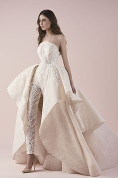 Featured Dress: Saiid Kobeisy; Wedding dress idea.