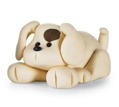 Clay dog - use this pic here as example