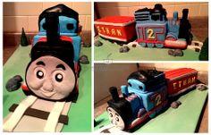 Thomas The Train Theme Cake