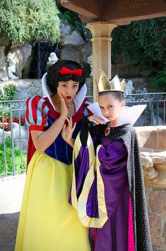 Snow White & Mini Me Haylie Bonser