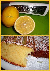 Κέικ λεμονιού... απλό, μαμαδίστικο, υπέροχο! Σνακ με τον καφέ, το γάλα ή την κρύα σοκολάτα... - Tante Kiki