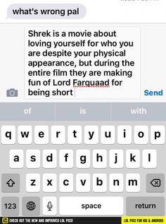 Shrek funny pics, funny gifs, funny videos, funny memes, funny jokes. LOL Pics app is for iOS, Android, iPhone, iPod, iPad, Tablet