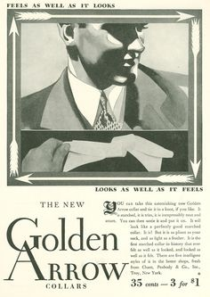 Gatsby-era Ads - Golden Arrow