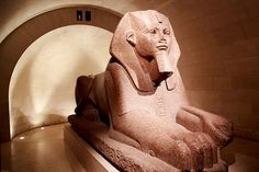 Great Sphinx of Tanis in the Louvre - Paris, France