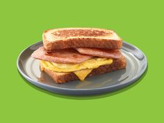 Simple Grilled Cheese and Egg SPAM® Sandwich | SPAM® Brand