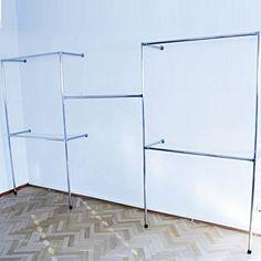 Kleiderständer Kleiderstange Garderobenständer begehbarer Kleiderschrank 320 cm x 190 cm x 40 cm