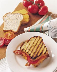 Grilled Cheese on the Grill Recipe- why haven't I thought of this???