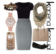 """KarenaKasual-My Mono #1"" by nesyagata on Polyvore"