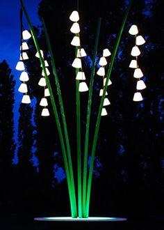 How does your garden glow? Lighting Concepts, Lighting Design, Cool Lighting, Outdoor Lighting, Garden Art, Garden Design, Burning Man Art, Co Working, Luz Led