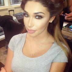 Chantel Jeffries Makeup by Fyza Ali. Full product breakdown on her blog. @soniaxfyza
