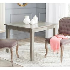 Safavieh Nathan Ash Grey Dining Table - Overstock™ Shopping - Great Deals on Safavieh Dining Tables