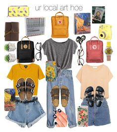 ur local art hoe // my aesthetic by maddiextheresa on Polyvore