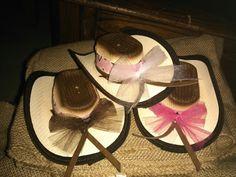 Cowgirl decor hats