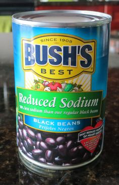 Black bean can