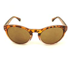 LA Sunglasses Brown Retro Round Sunglasses for sale at Cats Like Us #retro #sunglasses #newarrivals #cateye #round #sunnie #accessories #pinup #rockabilly #fashion