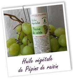 Fiche technique huile végétale de Pépins de raisin - Vitis vinifera