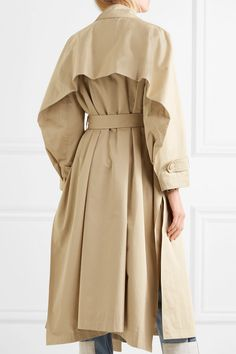 Koché   Cotton-gabardine trench coat   NET-A-PORTER.COM