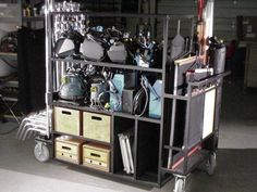 Lowing Products Taco Cart
