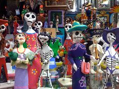 Day of the Dead festival in Mexico is something that I want to experience. After taking a class on death and dying various cultures traditions and practices surrounding death fascinate me.