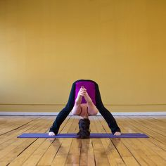 Best Yoga Poses for After Work (stretch out those muscles after sitting at a desk, all day!)