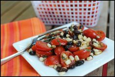 Cafe 305: Fourth of July Party and Tomato, Black Bean and Corn Salad