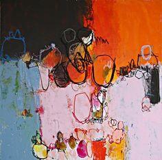 La peinture de l'artiste Rochelaise réconcilie l'ordre et le désordre, la couleur et ses résonances. D'une palette riche de nuances chatoyantes et contrastées elle offre aux regards interrogateurs un chemin sans concession vers un ailleurs de paysages intérieurs. Vernissage vendredi 17 juin, à 18 h.