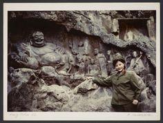 Michel Delaborde, Hang Tcheou, (Bouddha rieur du temple Lingyin) 1981. © Ministère de la culture (France), Médiathèque de l'architecture et du patrimoine, Diffusion RMN-GP