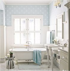 New Interior Decoration: Cottage Style Bathroom Design Ideas