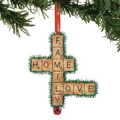 A Guide to Christmas Party Games Scrabble Christmas Decorations, Scrabble Ornaments Diy, Scrabble Tile Crafts, Christmas Ornaments To Make, Christmas Crafts, Diy Ornaments, Christmas Ideas, Wood Decorations, Christmas Stuff