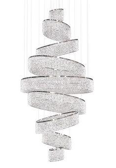 Windfall Chandelier: Swirl-it looks like jewelry!