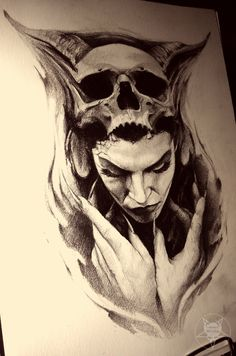 the witch by AndreySkull.deviantart.com on @DeviantArt