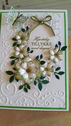 Heartfelt creations arianna blooms stamp and die. Spellbinders romantic rose. Embossing folder by Darcie.