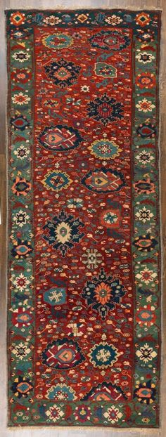 Kuba long rug, Caucasus, last quarter 19th century. Christopher Emmet collection