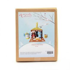 DIY craft kit which creates Jesus, family and house. Perfect for people who enjoy being creative. Craft Kits, Diy Kits, Craft Projects, Fun Crafts, Crafts For Kids, Christmas Crafts, Christmas Decorations, Xmas Gifts, Homemade Gifts