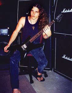 The godfather of technical death metal Chuck Schuldiner