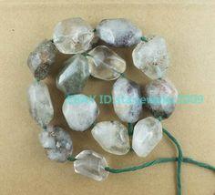 25-30mm Natural Lodalite Freeform Loose Beads 16'' #LooseBeads