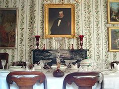 Gallier House, New Orleans -Dining room