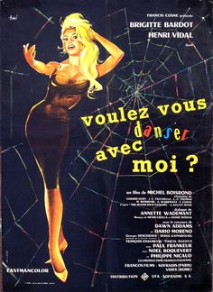 Come Dance with Me (Michel Boisrond, 1959) French design by Clément Hurel