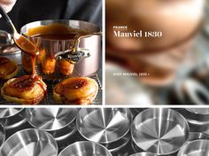Williams-Sonoma sources cookware from around the world, including top brands from France. Learn about and discover leading French cookware. Williams Sonoma, Home Kitchens, Cookware, Cooking, Tableware, Dinner Ideas, Shop, Essentials, Products