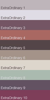 Caparol Colour Trend 2012 | 2013 - Extraordinary