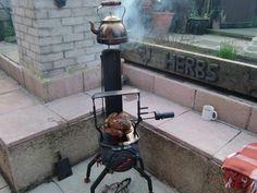 Unbelievably brilliant homemade stove