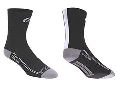 Bbb Cycling - Calcetines de ciclismo bbb foldfeet bso-03 /blanco, talla m (39-42), color negro